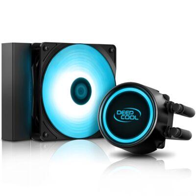 Deep Cool Gammaxx L120T-BLUE 120mm Sıvı CPU Soğut.AM4-AM3+-LGA20XX-LGA1366-LGA115X -1200