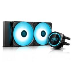 DEEP COOL - Deep Cool Gammaxx L240T-BLUE 240mm Sıvı CPU Soğt.AM4-AM3+-LGA20XX-LGA1366-LGA115X