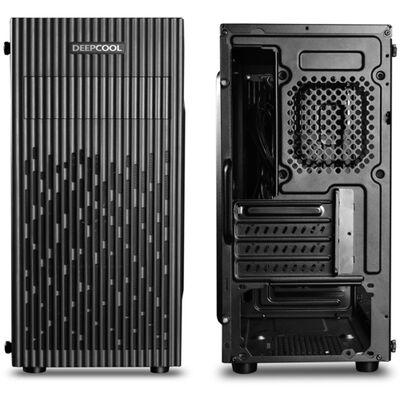 Deep Cool MATREXX 30 Mini Tower Kasa Siyah PSU YOK1xUSB 2.0 + 1xUSB 3.0 - 1X 120mm