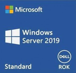 DELL - DELL WINDOWS SERVER 2019 STANDART W2K19STD-ROK