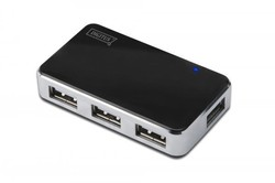 DIGITUS - DIGITUS DA-70220 4 PORT USB 2.0 HUB