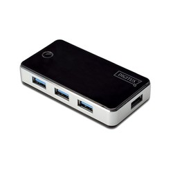 Digitus DA-70231 4 Port USB 3.0 Hub - Thumbnail