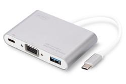 Digitus DA-70839 USB Type-C to USB 3.0-Type-C-VGA - Thumbnail