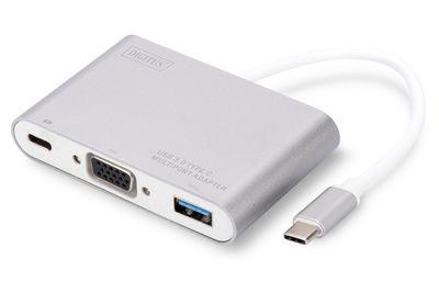 Digitus DA-70839 USB Type-C to USB 3.0-Type-C-VGA