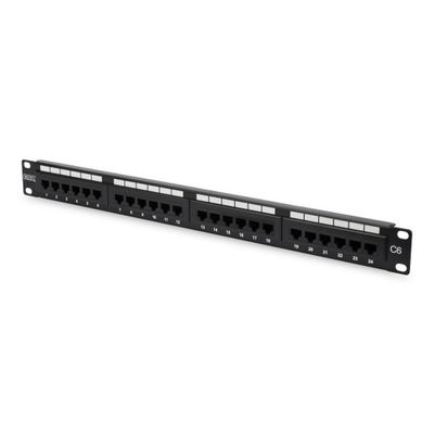 Digitus DN-91624U 24 Port Cat-6 UTP Patch Panel