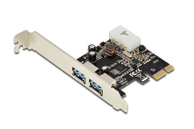 Digitus DS-30220-4 2 Port'lu PCI Exp.USB 3.0 Kart