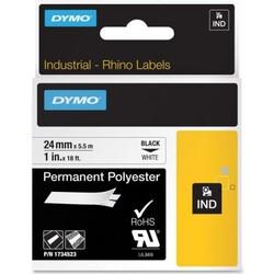DYMO - Dymo RhinoPRO 18053 Beyaz-Siyah Sabit Polyester