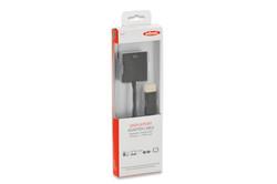 EDNET ED-84506 DisplayPort - VGA Adaptör Kablosu, DP Erkek- HD15 Dişi, 0.15 metre - Thumbnail