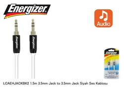 Energizer - ENERGIZER LCAEHJACKBK2 1.5 Mt 3.5 to 3.5 Ses Kablosu
