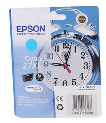 EPSON - Epson 27XL Cyan Mavi Mürekkep Kartuş T27124012