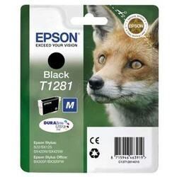 EPSON - Epson BX305 SX125-425 Black Siyah Mürekkep Kartuş T12814022