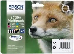 EPSON - Epson BX305 SX125-425 Multipack 4'lü Mürekkep Kartuş T12854022