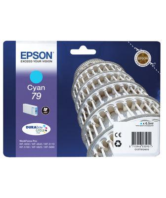 Epson Singlepack Cyan 79 DURABrite Ultra Ink ( C13T79124010 )
