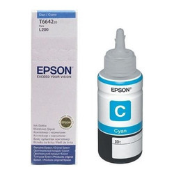 Epson T6642 Mavi Ink Container 70ml - Thumbnail