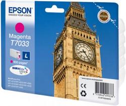 EPSON - Epson T7033 Magenta Kırmızı 800 Sayfa Mürekkep Kartuş T70334010