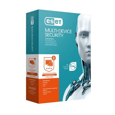 ESET Internet Security Trk Kutu 1yıl 3kullanıcı