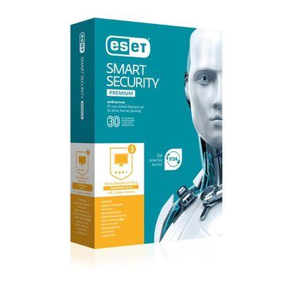 ESET Smart Security Premium (3 Kullanıcı Kutu)