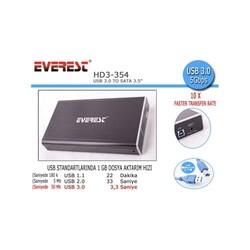 EVEREST - Everest 3.5 HD3-354 USB 3.0 Disk Kutusu SATA