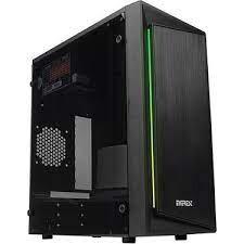 EVEREST - EVEREST BLAZON 250W PEAK RGB Led Şeritli SIYAH Akrilik Yan Panel Gaming Oyuncu Kasası