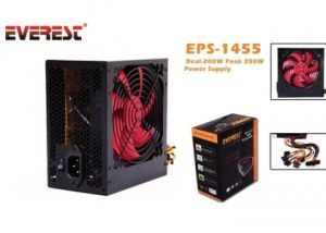 EVEREST EPS-1455 250W 12cm Fan Power Supply
