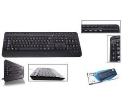 EVEREST - EVEREST KB-2900 Q Türkçe USB Multimedya Su geçirmez Siyah Klavye