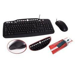 EVEREST - EVEREST UN-797 Q Türkçe USB Multimedya Siyah Klavye+ Mouse
