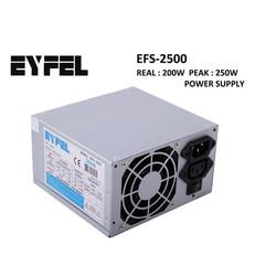 EYFEL - EYFEL EFS-2500 250W PEAK Atx Power Supply 8 Cm Fan