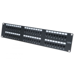 FREELINK - FREELINK (E2712) 48 PORT DOLU CAT6 UTP PATCH PANEL