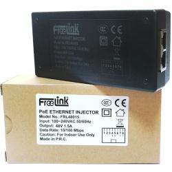 FREELINK - FREELINK (FRL48015) 48V 1.5A 10-100 POE ADAPTÖR