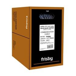 FRISBY - FRISBY CAT6 Utp 24AWG 305m Saf Bakır Kablo 0.50mm FNW-CAT628