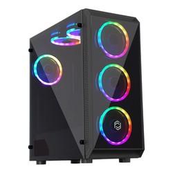 FRISBY - FRISBY FC-8890G 650W RGB FAN GAMING KASA