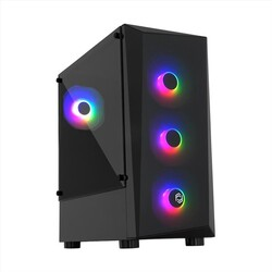 FRISBY - FRISBY FC-8935G 650W 80+ Siyah Mid Tower