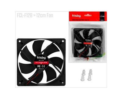 Frisby FCL-F12B Kasa Fanı 12cm 4-Pin