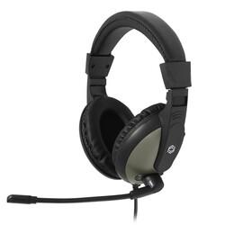 FRISBY - FRISBY FHP-700 Stereo 3.5mm Jack Siyah-Gri Mikrofonlu Kulaklık