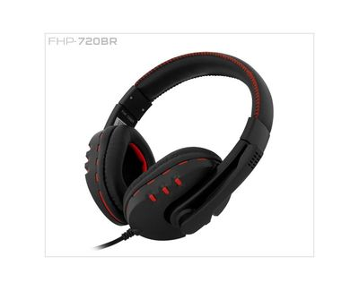 Frisby FHP-720BR Mikrofonlu Kulaklık Siyah