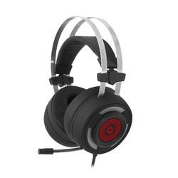 FRISBY - FRISBY FHP-G1490B 7.1 Surround USB Led Aydınlatma Siyah/Kırmızı Titreşimli HX6 Gaming Mikrofonlu Kulaklık
