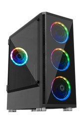 FRISBY - FRISBY Venom FC-9270G 650W 80+ Gaming Kasa Dual-Ring RGB Fan