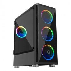 FRISBY - FRISBY VENOM RGB ATX TEMPERLİ 650W GAMİNG KASA