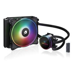 GameBooster - GameBooster NITRO 120 GB-LCS-NTR120 İntel-AM4 ARGB Fanlı 120mm Sıvı Soğutma Sistemi