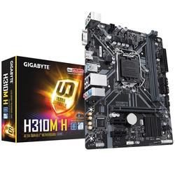 GIGABYTE - GIGABYTE 1151p v2 H310 DDR4 H310M-H 4x Sata HDMI Intel® HD Graphics 3x (PCIe) mATX