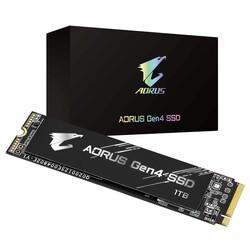 GIGABYTE - GIGABYTE 1TB AORUS GP-AG41TB 5000- 4400MB-s M2 PCIe NVMe Gen4 Disk