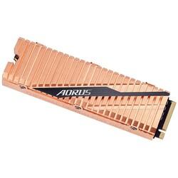 GIGABYTE - GIGABYTE 1TB AORUS GP-ASM2NE6100TTTD 5000- 4400MB-s M2 PCIe NVMe Gen4 Disk