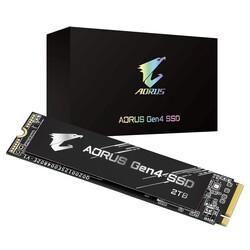 GIGABYTE - GIGABYTE 2TB AORUS GP-AG42TB 5000- 4400MB-s M2 PCIe NVMe Gen4 Disk