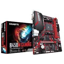 GIGABYTE - GIGABYTE AMD B450M GAMING B450 DDR4