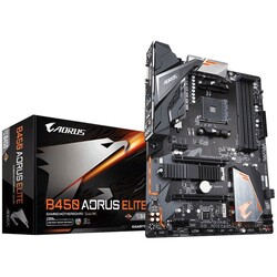 GIGABYTE - Gigabyte B450 AORUS Elite V2 AMD B450 Socket AM4 ATX Anakart