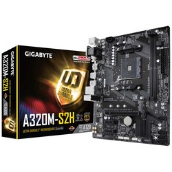 GIGABYTE - Gigabyte GA-A320M-S2H AM4 Ryzen DDR4 Hdmi Usb3.1