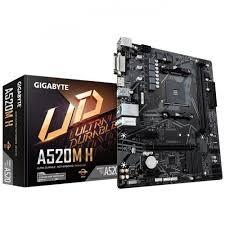 Gigabyte - GIGABYTE GA-A520M-H DDR4 5100(OC) HDMI AM4