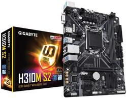 GIGABYTE - Gigabyte H310M S2 Intel 1151Pin 2666Mhz DDR4 Anakart