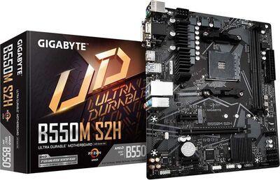 GIGABYTE MAB AMD B550 AM4 DDR4 5000MHZ DVI (B550M-S2H)