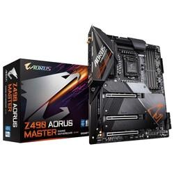 GIGABYTE - GIGABYTE Z490 AORUS MASTER DDR4 SATA3 M2 PCIe NVME HDMI PCIe 16X v3.0 1200p ATX